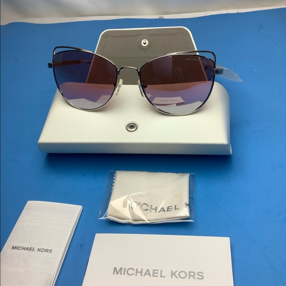 New Michael Kors Pink Lens Sunglasseses